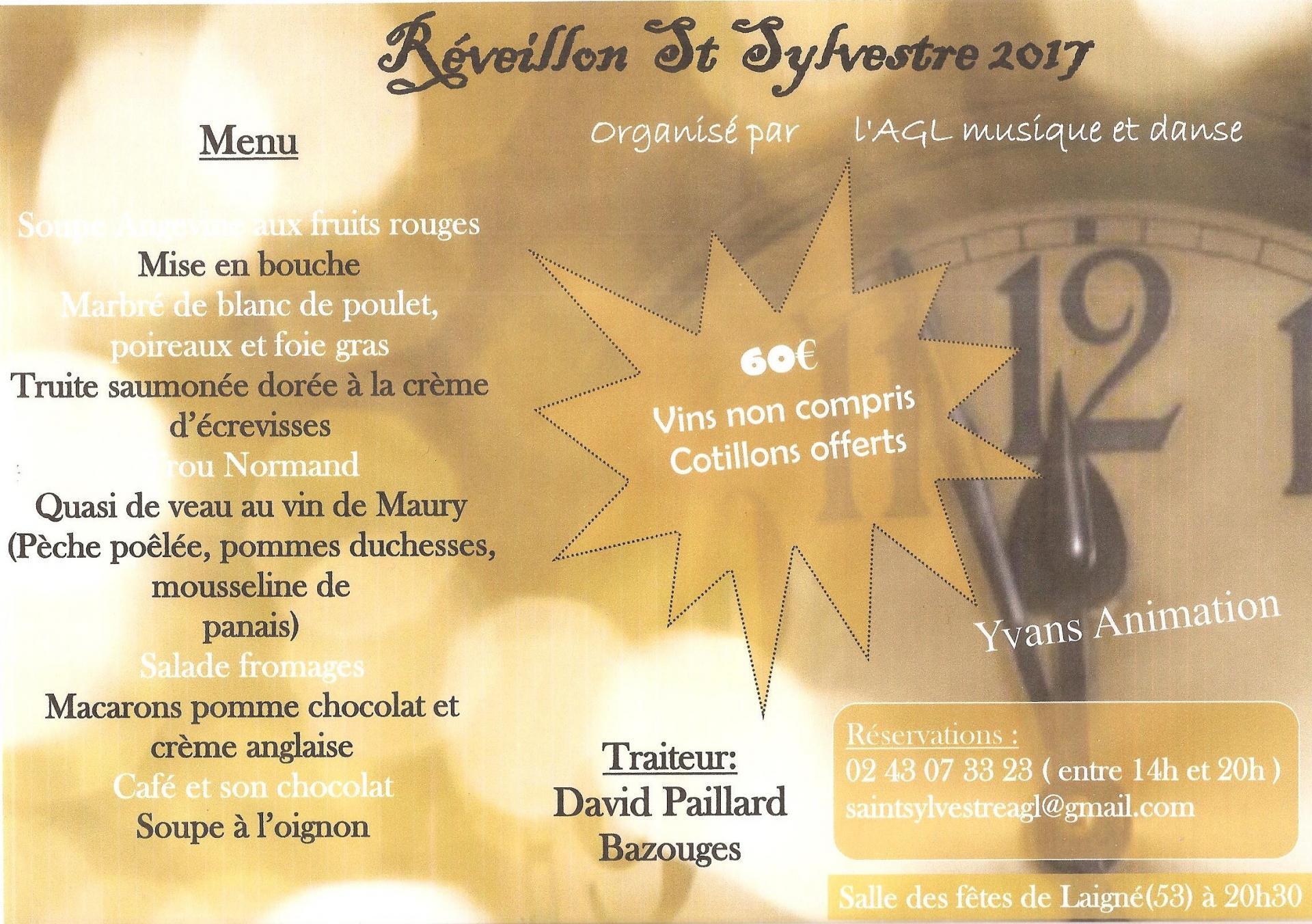 St Sylvestre 2017